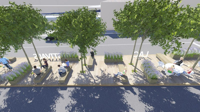Des aménagements pour rendre la place de la gare de Nyon plus accueillante