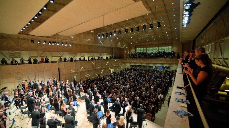 Rolle: à l'aube de sa cinquième saison, le Rosey Concert Hall a trouvé son public