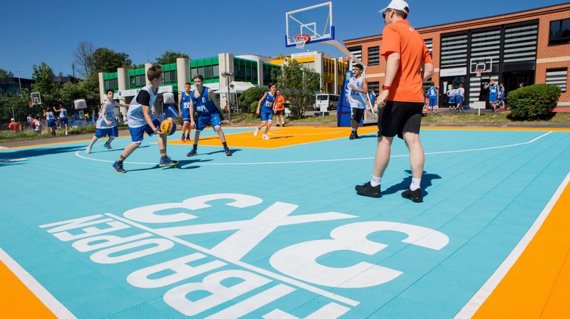 Les passionnés de basket pourront s'en donner à coeur joie ce week-end sur les sept terrains montés pour l'occasion.