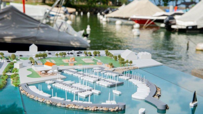 Mies-Tannay: La population soutient massivement le projet d'agrandissement du port du Torry.
