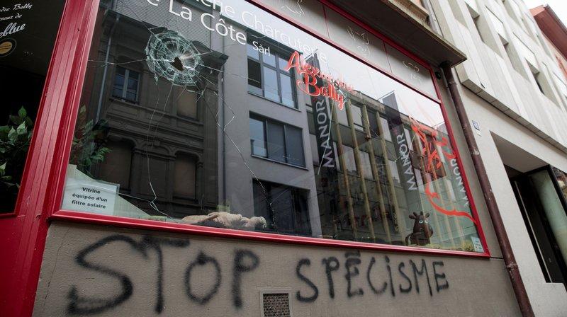 McDo et boucheries caillassés par les antispécistes: la Municipalité de Nyon condamne