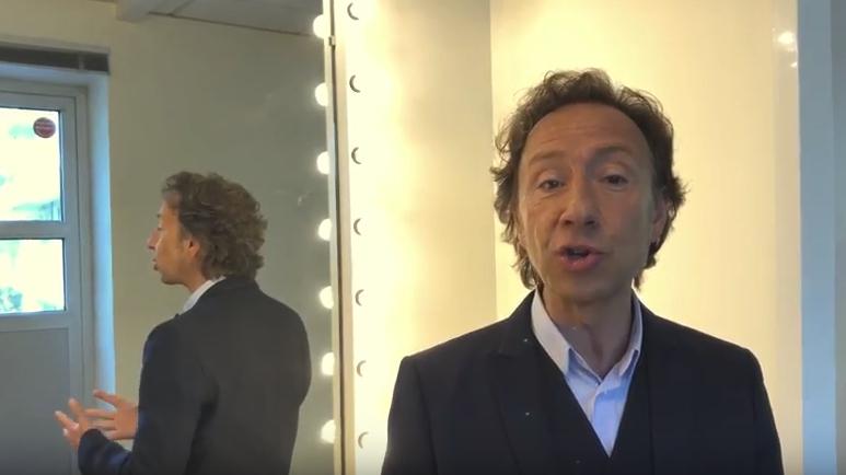 Stéphane Bern dans la vidéo concernant le château de Coppet