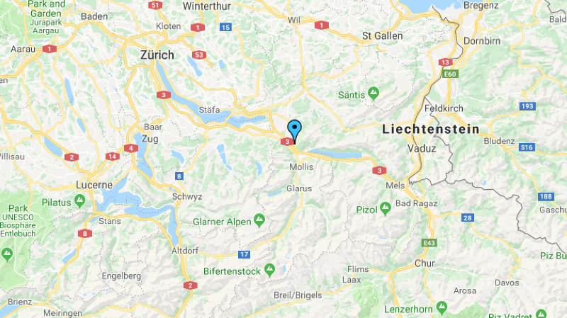 Saint-Gall: un ouvrier de 49 ans meurt écrasé par une bassine de béton à Schänis