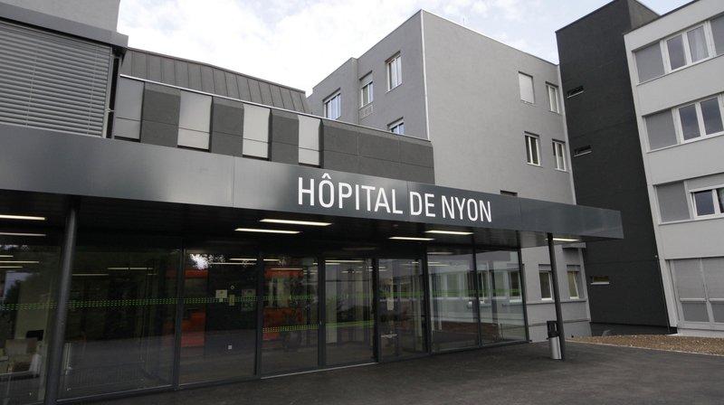 Le vol a eu lieu dans la salle d'attente de l'Hôpital de Nyon.