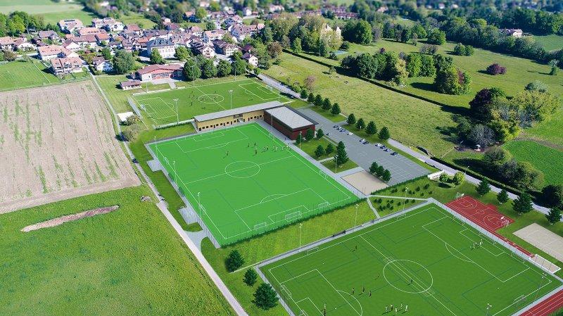 Gingins financera la moitié de son centre sportif… s'il trouve d'autres fonds