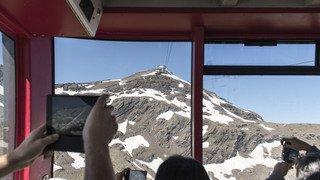 Berne: le téléphérique du Schilthorn tombe en panne, 400 touristes évacués par hélicoptère