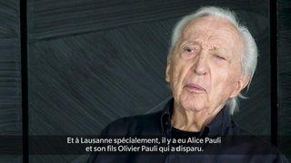 Pierre Soulages pour les 40 ans de la Fondation Gianadda