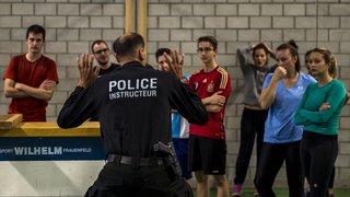 Les policiers genevois continueront d'être formés à Savatan, au-dessus de Lavey-les-Bains