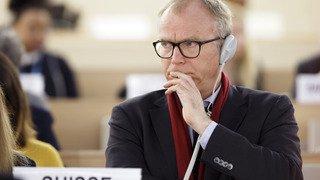 ONU: la Suisse déplore le départ des Etats-Unis du Conseil des droits de l'Homme