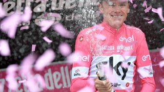 Cyclisme - Tour d'Italie: Chris Froome remporte son premier Tour d'Italie