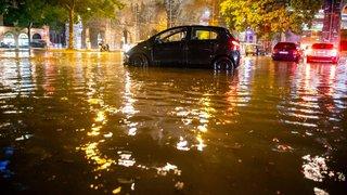 Lausanne sous l'eau