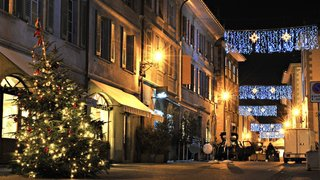 A Nyon, l'éclairage de fin d'année devrait être enfin… festif!