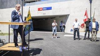 La gare de Mies a été inaugurée