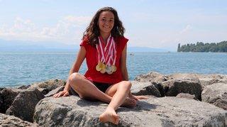 Meeting de La Côte: la Morgienne Sibylle Charbonnier remporte 16 médailles en 18 courses