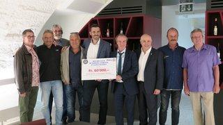 Morges: 60000francs remis par le Rotary club à Destiny