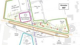Nyon: nouveau projet de complexe multisport à Colovray