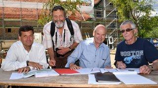 Bois de Chênes: la nouvelle ferme-château prend forme