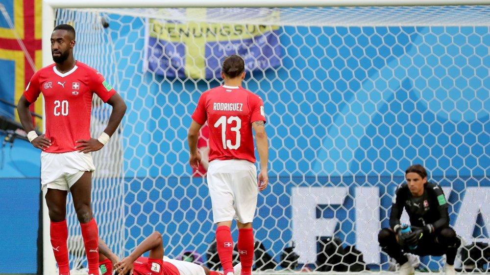 Beaucoup de dépit et d'amertume pour une équipe de Suisse qui n'a pas su se sublimer pour bousculer les Suédois.