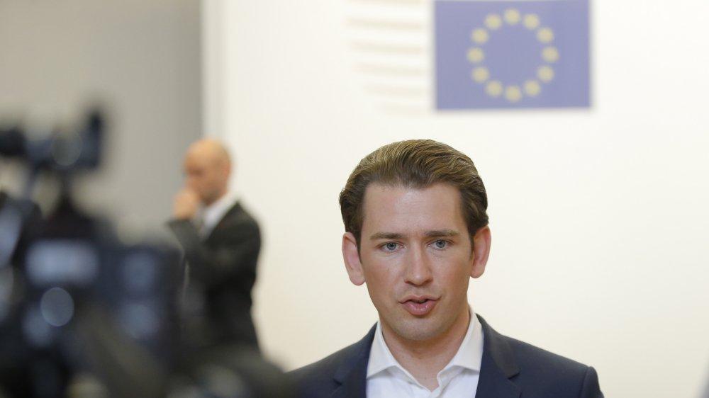 Se disant «pro-européen», le chancelier autrichien, Sebastian Kurz, affiche la volonté de son pays de jouer le rôle d'un «constructeur de ponts».