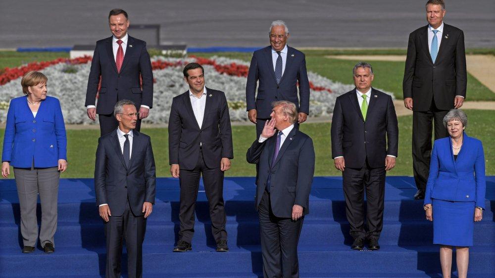 Trump revendique sa victoire face aux alliés européens