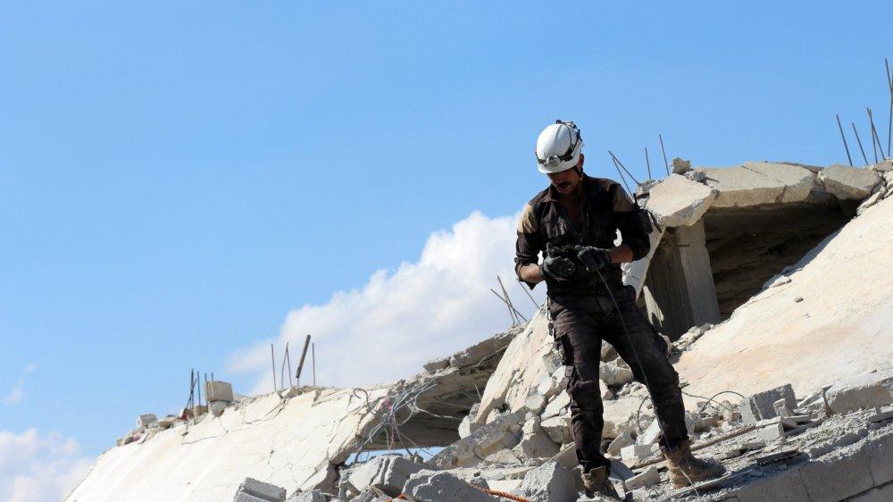 Les Casques blancs, secouristes bénévoles, ont sauvé des milliers de victimes de bombardements de l'armée syrienne et de l'aviation russe.