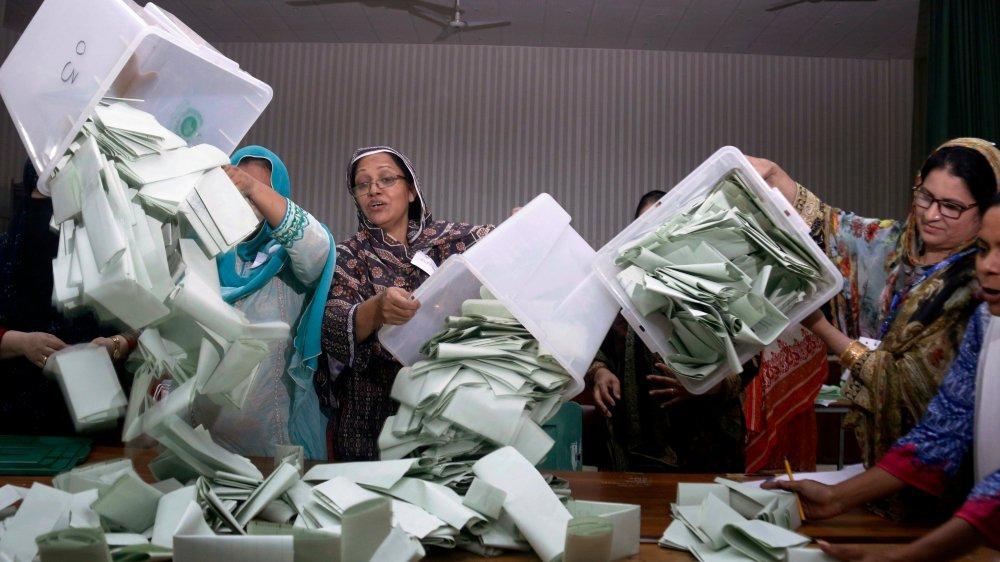106millions d'électeurs pakistanais étaient appelés aux urnes.