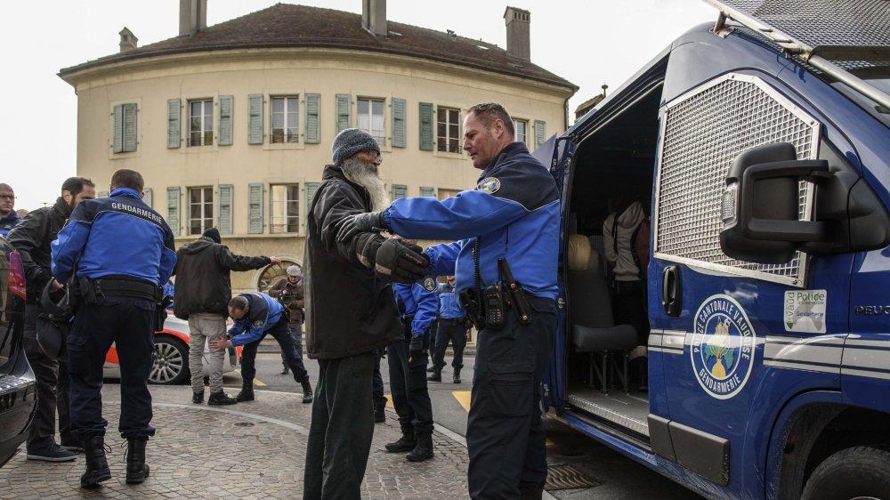 Le même jour que la manifestation à Aubonne, les cabris avaient été volés à Rolle.