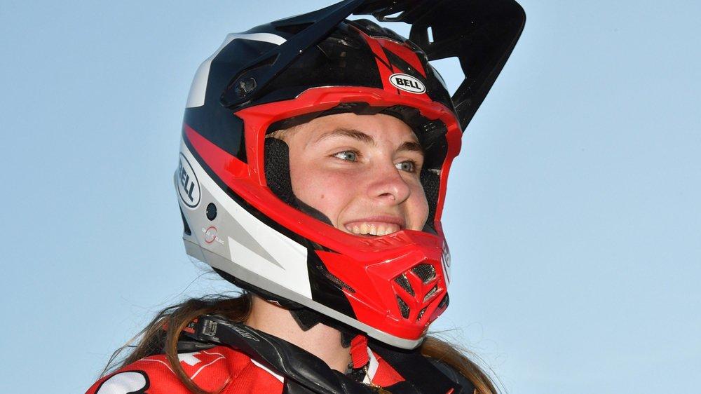 Première au classement général de la Coupe d'Europe, Zoé Claessens espère briller, ce week-end à Echcihens.