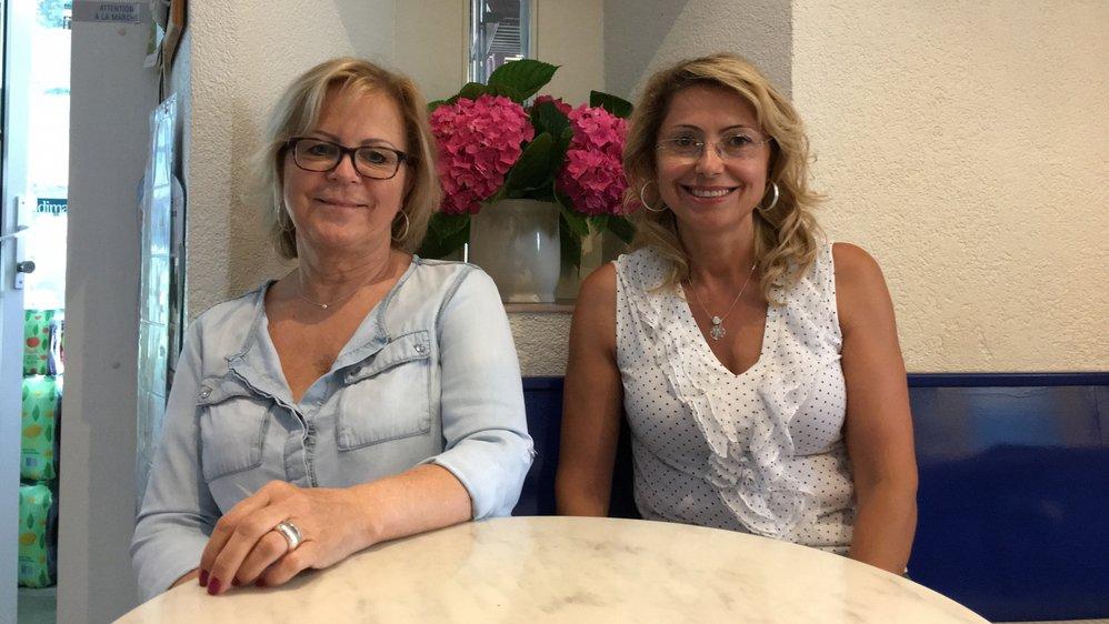 Paulette Perez et Cristina Ferreira. Manque Dorita Santiso, employée appréciée des clients.