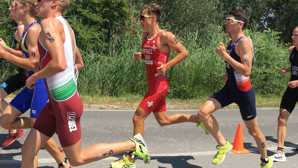 Loïc Triponez a pris la dixième place de l'épreuve espagnole, et a décroché son ticket pour les JOJ.