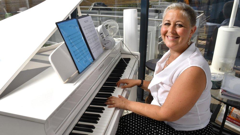 Natacha Jambers rêvait d'ouvrir une école de comédie musicale avant ses 40 ans. Cela sera fait en septembre!
