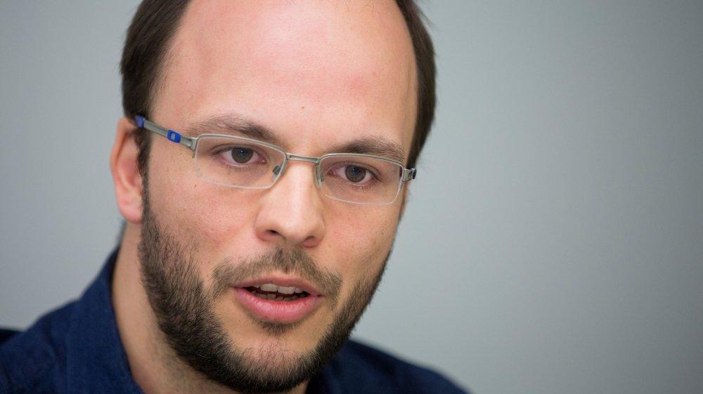 """Yvan Rytz relève que la situation de l'emprunt est """"source de préoccupation""""."""