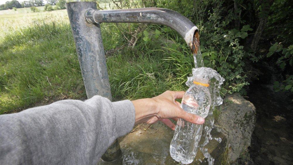 L'eau de source de Divonne-les-bains va être embouteillée. Le projet remonterait aux années 1960-1970.