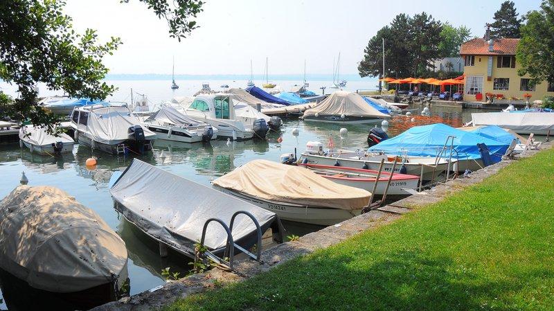Le port de Tannay.