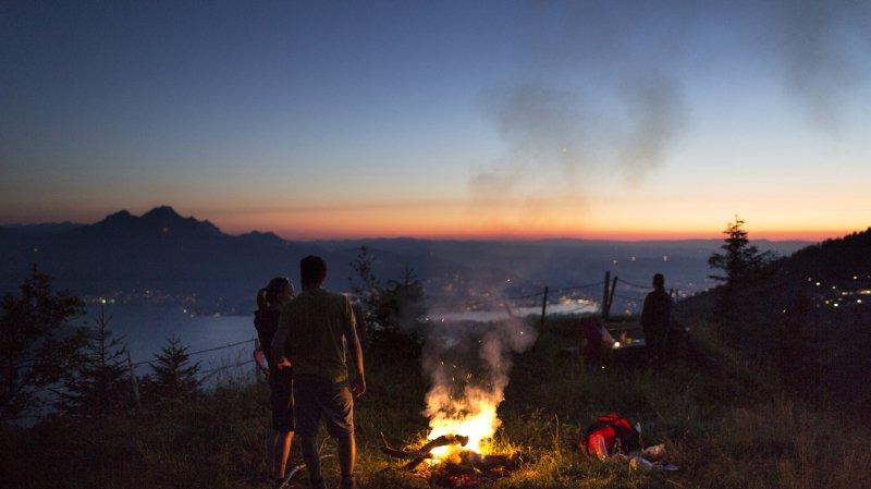 Sécheresse: de nombreux cantons interdisent à leur tour les feux de forêt