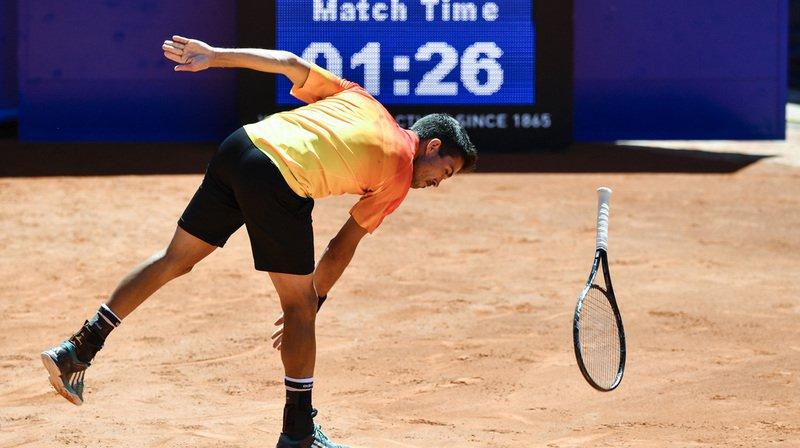 Yann Marti a été sanctionné d'une amende de 5000 euros (5800 francs) par l'ATP pour son dérapage verbal.