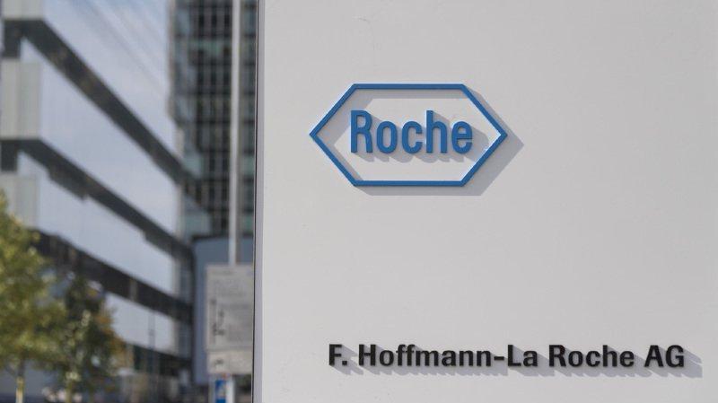 Roche annonce des résultats positifs pour son immunothérapie contre le cancer du sein métastatique triple négatif. (KEYSTONE/Georgios Kefalas)