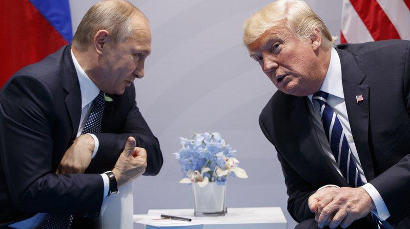 Le sommetTrump-Poutine aura lieu le 16 juillet à Helsinki