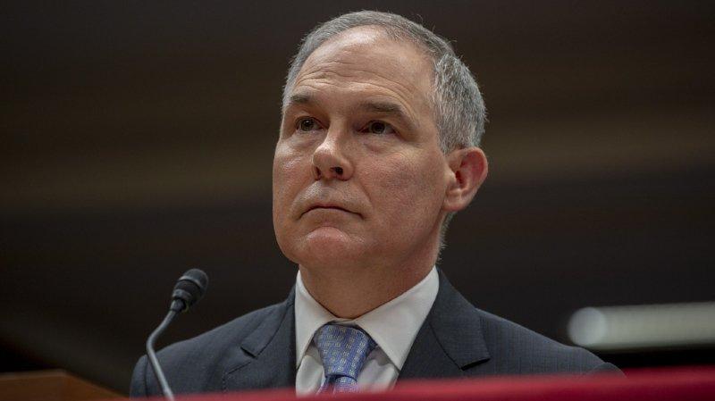 Etats-Unis: le ministre de l'Environnement controversé de Trump démissionne