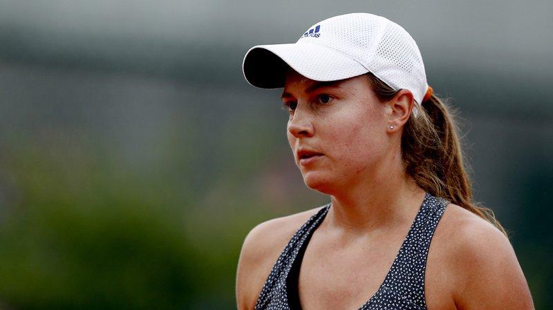 Stefanie Vögele (WTA 93) n'a pas signé d'exploit au 1er tour de Wimbledon.