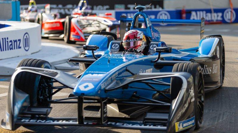 Formule E: le Vaudois Sébastien Buemi termine troisième à New York, Vergne titré