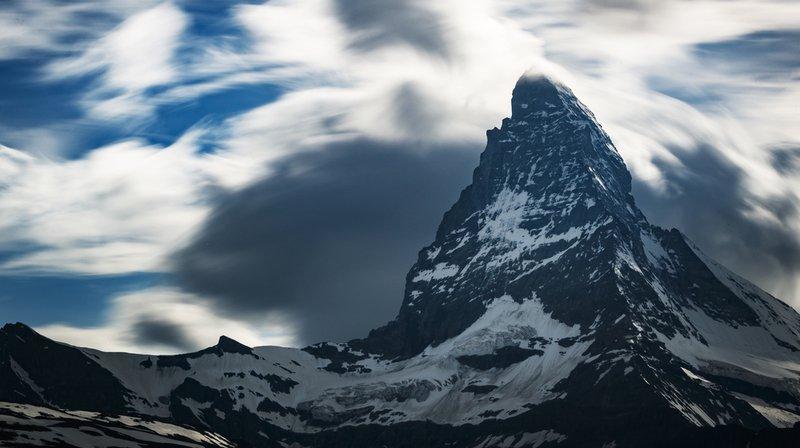 Accident de montagne: deux montagnards meurent après une chute sur la face sud du Cervin