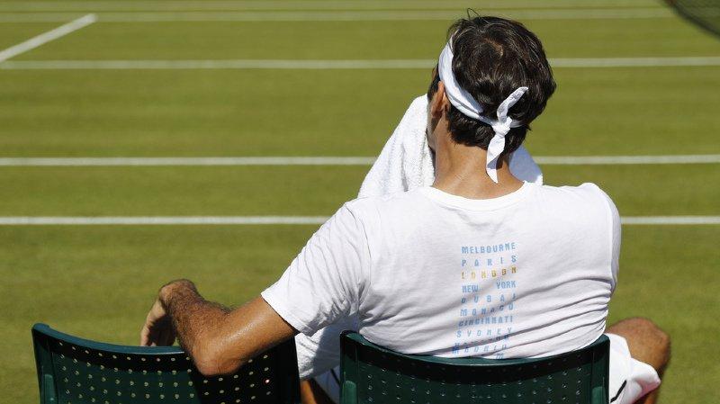Tennis: Federer et Wawrinka feront leur entrée lundi sur le Centre Court de Wimbledon
