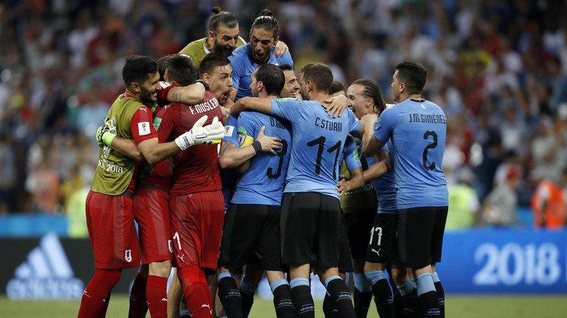 Coupe du monde 2018: l'Uruguay bat le Portugal et se qualifie pour les quarts de finale