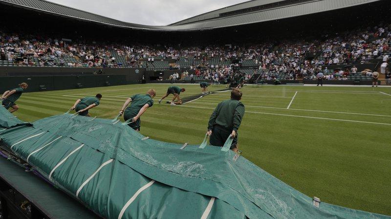 Tennis - Wimbledon: la partie de Wawrinka contre Fabbiano, suspendue par la pluie, reprendra jeudi