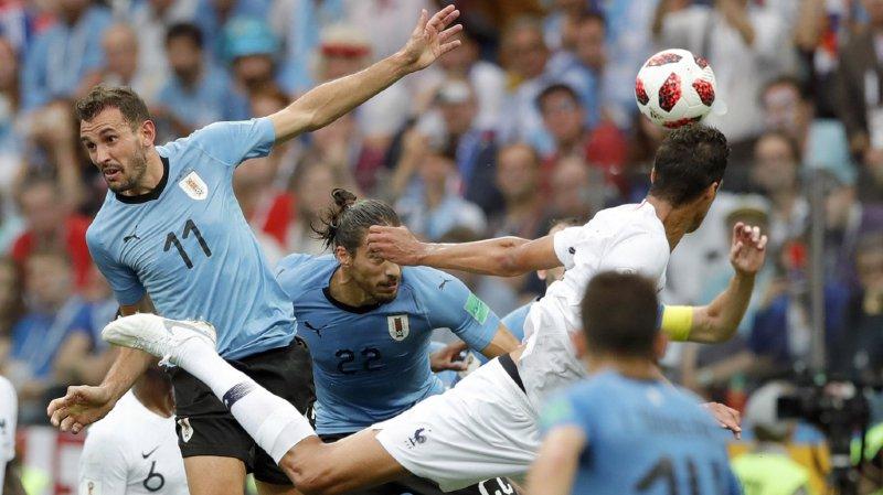 Coupe du monde 2018: la France bat l'Uruguay et se qualifie pour les demi-finales