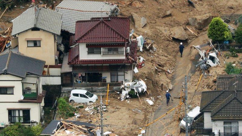 Intempéries au Japon: des dizaines de morts
