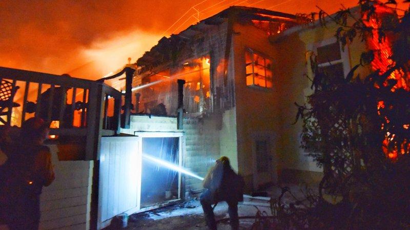 Vingt habitations ont déjà été détruites dans le comté de Santa Barbara.