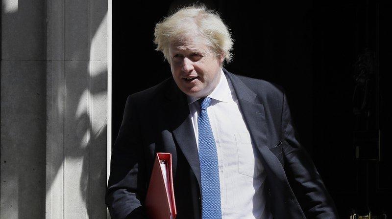 Le ministre britannique des Affaires étrangères, Boris Johnson, a présenté lundi sa démission.