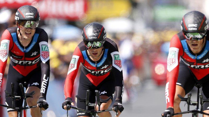 Cyclisme - Tour de France: BMC gagne le chrono par équipes